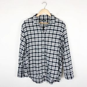 Madewell Button side Flannel Shirt